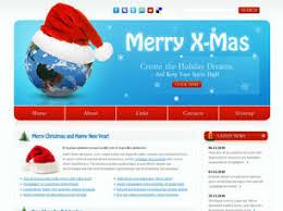 Free Christmas Website Templates Free Christmas Website Templates 2 Free Css