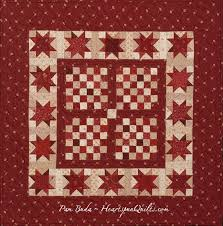 749 best RED QUILTS images on Pinterest | Patchwork embutido ... & Heartspun Quilts ~ Pam Buda: Tokens of the Past: Gathering In Red Special  Offer! Adamdwight.com