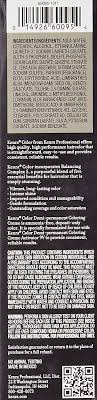 Kenra Color Chart Kenra Color Permanent 7sm Medium Blonde Silver Metallic By Kenra