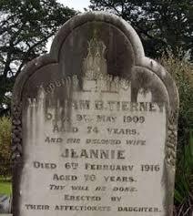 Jeannie Tierney (1846-1916) - Find A Grave Memorial