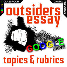 the outsiders essay prompts and speech w grading rubrics created the outsiders essay prompts and speech w grading rubrics created for digital