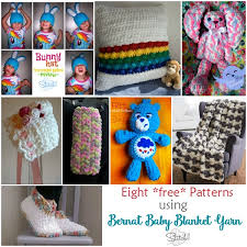 Bernat Free Crochet Patterns