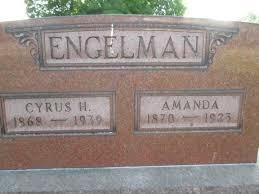 Amanda Engleman (1870-1923) - Find A Grave Memorial