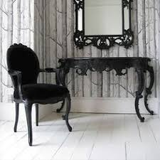 black bedroom chairs love the black french inspired furniture http wwwroomflooring french b