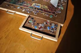 4 drawer puzzle board