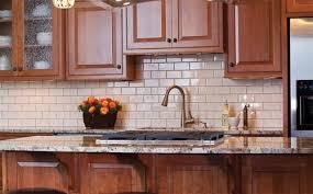 kitchen backsplash subway tile. Kitchen With Subway Tile Backsplash Pretty Cheap And Carrara Design