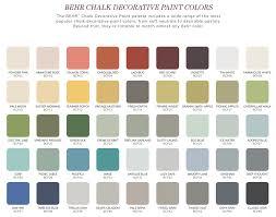 As Chalk Paint Colors