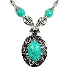 cool fashion natural stone costume jewellery anniversary necklaces mothers day gift large oval loading zoom
