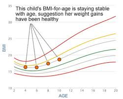 Is My Child Obese Chart Bmi Graph Page