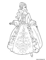 Coloriage Princesse Disney Barbie 2 Jecolorie Com