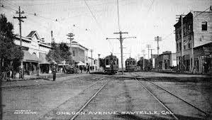 1906 view looking east on oregon avenue which was the original name of santa monica boulevard in this part of los angeles