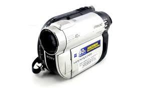 sony mini video camera. sony mini dvd disc video camera. dcr-dvd610e camera
