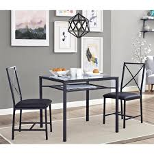 beautiful dining table set for 2 chairs 3 piece kitchen room two chair dining table