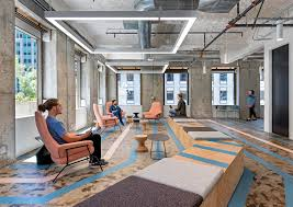 Uber office design Open Office In This Case The Fleetingness Of The Space Was Fully Explored Through Design That Looked To Bring The Transience Of The Urban Environment Indoors Frameweb Ubers Transient Office In San Francisco References Streetscape