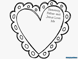 Jesus Loves Me Coloring Page Printable Printable Coloring Page For