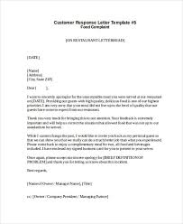 complaint letter samples restaurant complaint response letter