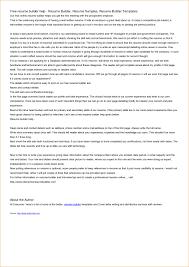 Professional Resume Builder Software Free Download Mac Resume
