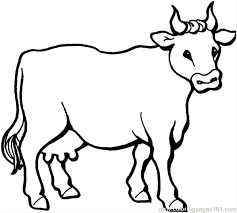cow clipart black and white. Contemporary Black Cow Clipart For Black And White T
