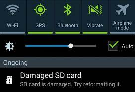 damaged sd card android fix techtips