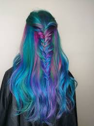 Imagine Hair Design Its Unicorn And Mermaid Mesh Up The Most Dreamy Hair