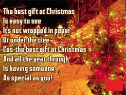 short poems about christmas gifts