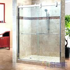 seamless glass shower shower enclosure frameless