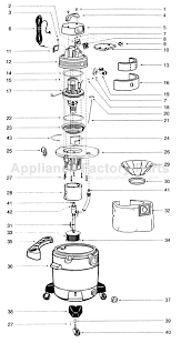 parts for domestic qpv10 5b shop vac vacuum cleaners image image
