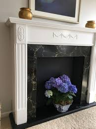 Diy Mantels For Fireplaces Diy Faux Fireplace How To Refinish A Vintage Mantel All Things