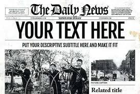 Newspaper Template Psd Free Newsletter Templates Download Hatch Co Newspaper