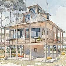 Tidewater Cottage   Top House Plans   Coastal LivingPages