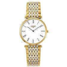 longines watches quality swiss watches ernest jones watches longines la grand classique men s gold plated watch product number 4790510