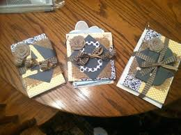 wedding card coffee table book diy