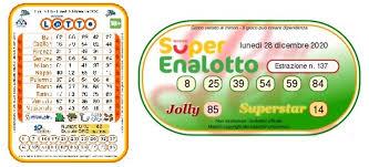 Superenalotto, data and statistical analysis including superenalotto results as far back as 1997. Estrazioni Lotto Oggi E Numeri Superenalotto Di Lunedi 28 Dicembre 2020