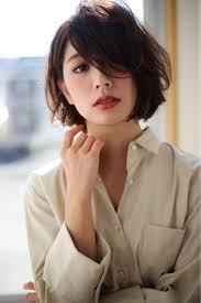 賀満 洋行さんのヘアカタログ パーマダークカラー前髪色っぽボブ冬