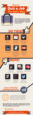 infographic how to quit a job the right way how to quit job v2
