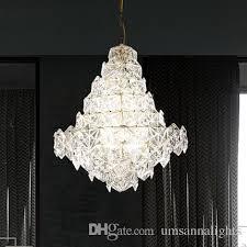 american crystal glass chandelier led modern chandeliers lighting fixture home indoor lighting restaurant dining bed living room led lamps chandelier