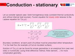 8 conduction stationary