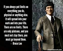 Bruce Lee Quotes Best Bruce Lee Quotes On Setting NO Limits