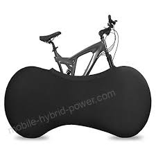 housesczar indoor protective bike cover washable elastic universal bike storage wheel cover tire package fit all