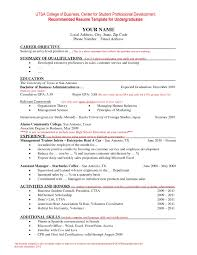 Best Of Sample Resume Format Word Free Resume Templates Template