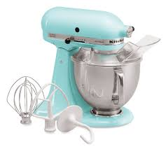 Kitchen Aid Ice Blue Artisan Kitchenaid Mixers 5 Quart Ice Blue