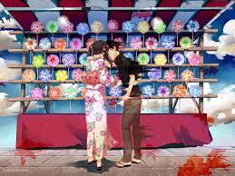 夏祭り 屋台 恋の思い出1440 X 1080の壁紙 壁紙キングダム Pc