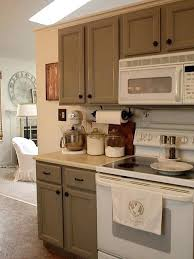 painted kitchen cabinets with white appliances. Best Color To Paint Kitchen Cabinets With White Appliances Grey Painted I