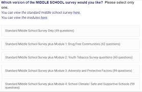 School Survey Questions Conducting A Yrbs Formerly Wisconsin Online Yrbs Wisconsin