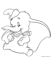 Small Picture Dumbo Coloring Pages Disney Coloring Book