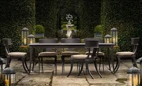 restoration outdoor furniture. Restoration Hardware Klismos Outdoor Furniture 2