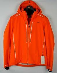 Details About Kjus Mens Boval Insulated Ski Snow Jacket Ms15 E08 Kjus Orange Size 50