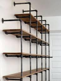 diy pallet iron pipe. Iron Pipe Bookshelf Diy. Do It Diy Pallet