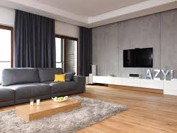 Modern Curtain For Living Room Trendy Curtains For Modern Living Room With Grey Wall Paint Color
