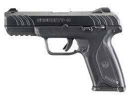 ruger security 9 black 9mm 4 inch 15rds